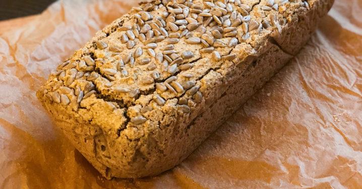 Pohankový bezlepkový chléb